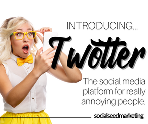 Introducing Twotter: The NEW (fake) Social Media Platform