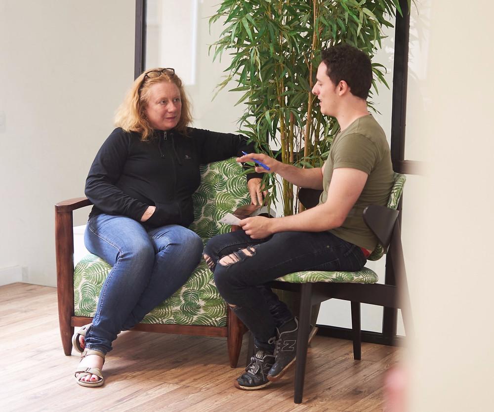Luci Lenox, Mat Cruz Actor, La Masia Reels, videobooks para actores, entrevista casting
