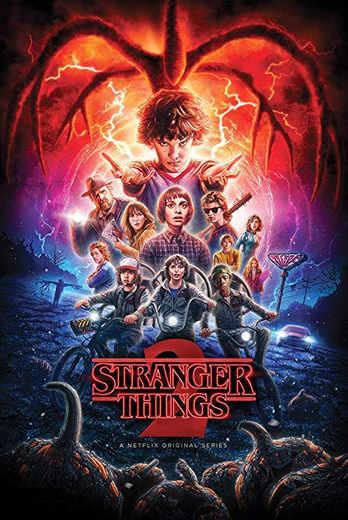 Stranger Things, Netflix, Poster