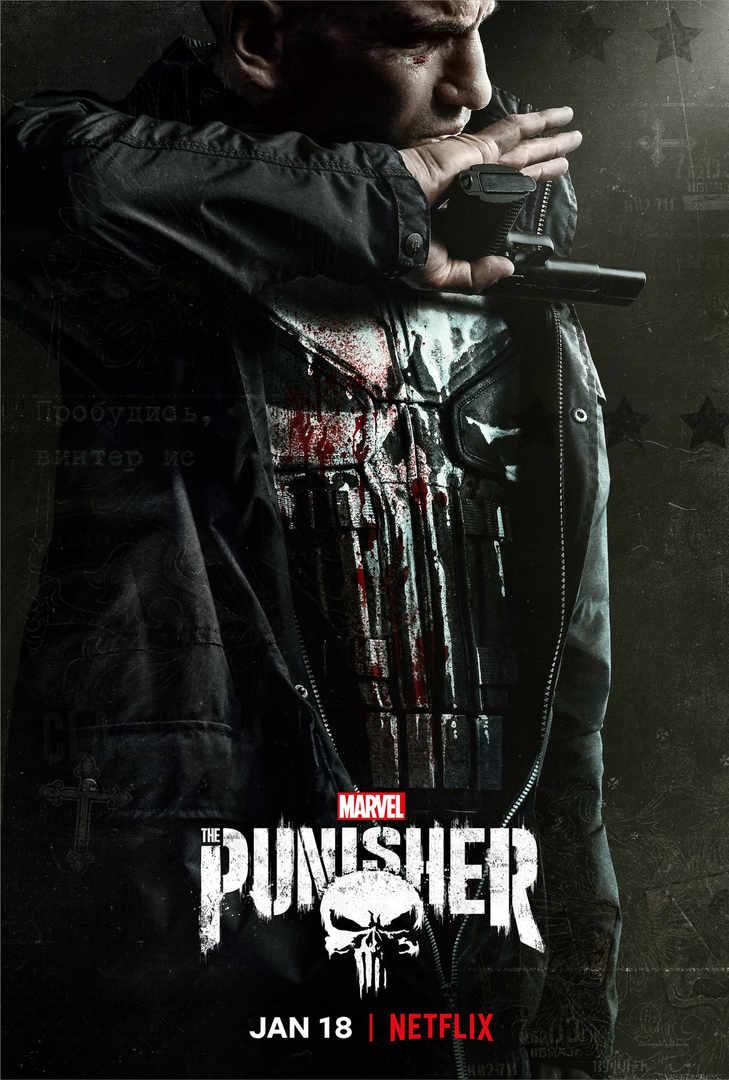 Punisher, Netflix, Poster