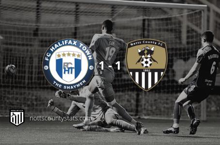 Match 7 - FC Halifax Town (a)