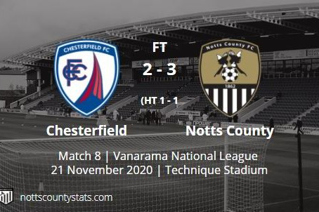 Match 8 - Chesterfield (a)