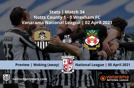 Match 34 - Wrexham (h)