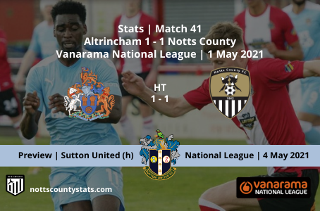 Match 41 - Altrincham (a)