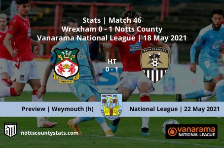 Match 46 - Wrexham (a)