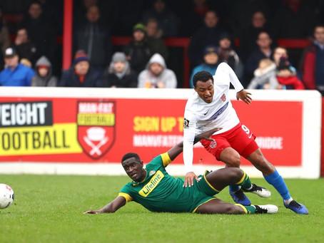 Match 31 - Dagenham & Redbridge (a)