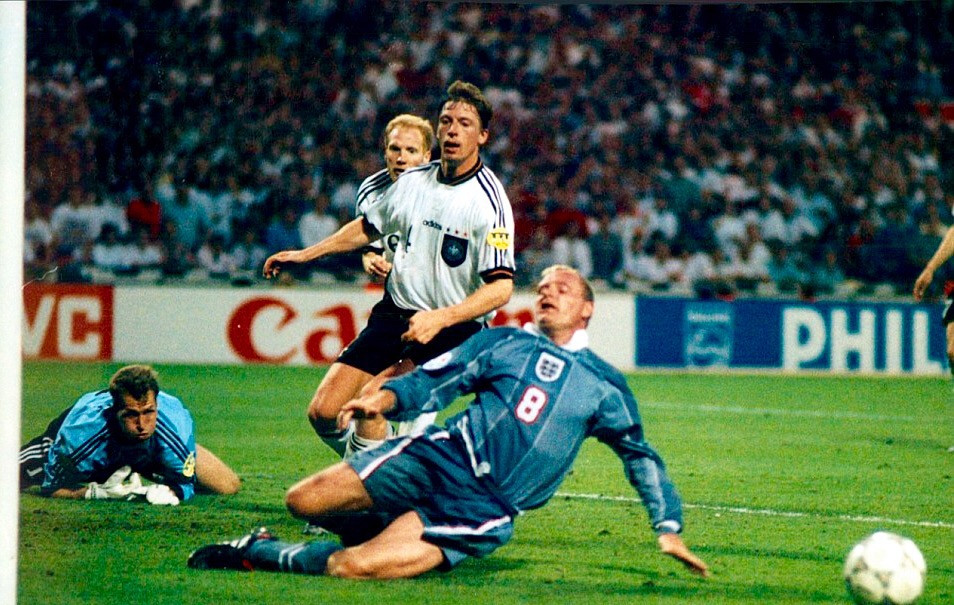 Paul Gascoine vs Germany Euro '96