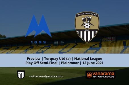 Preview - Torquay Utd (a) National League Play Off Semi-Final