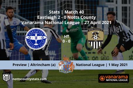 Match 40 - Eastleigh (a)