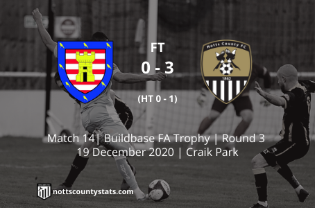 Match 14 - Morpeth Town (a)