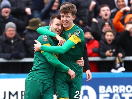 Match 36 - Barrow AFC (a)