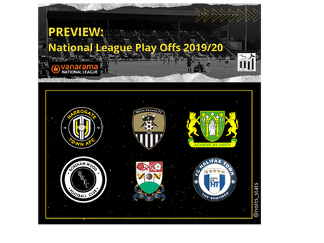Preview - National League Play Off's