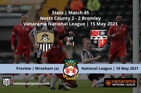 Match 45 - Bromley (h)