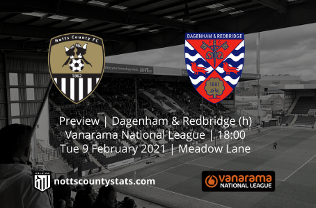 Preview - Dagenham & Redbridge (h)