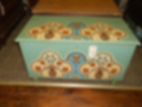Paint Decorated Derr Blanket Chest