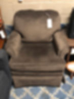 brown swive chair