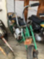 green mini bike