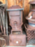 early cast iron stove
