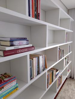 Estante modular para livros