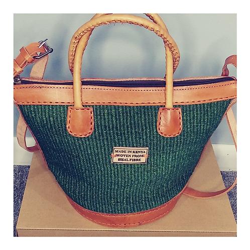 Green Kikoi bag