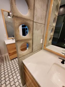 bath renovation, contemporary, design bu