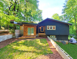 Design Build Renovation GoodHaus Contemporary Bungalow Green Roof Living Roof Sustainable