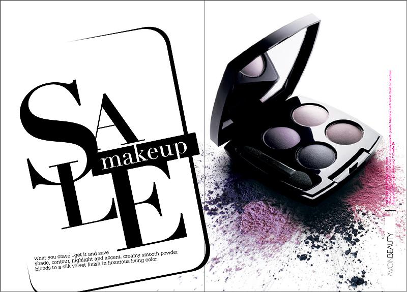 AVON brochure | color sale section