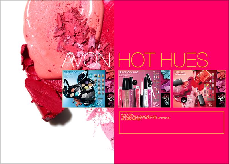 AVON | summer makeup sales event