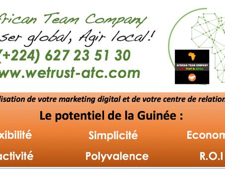 Le potentiel de la Guinée dans votre projet d'outsourcing de votre relation clients :