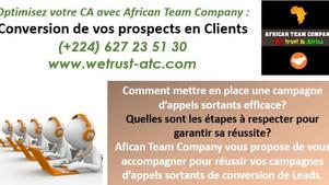 Réussir la conversion de vos prospects avec African Team Company