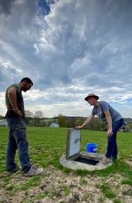 Analyses de sol en cours