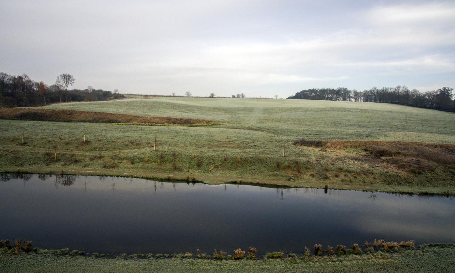 Bassin en bas de vallée