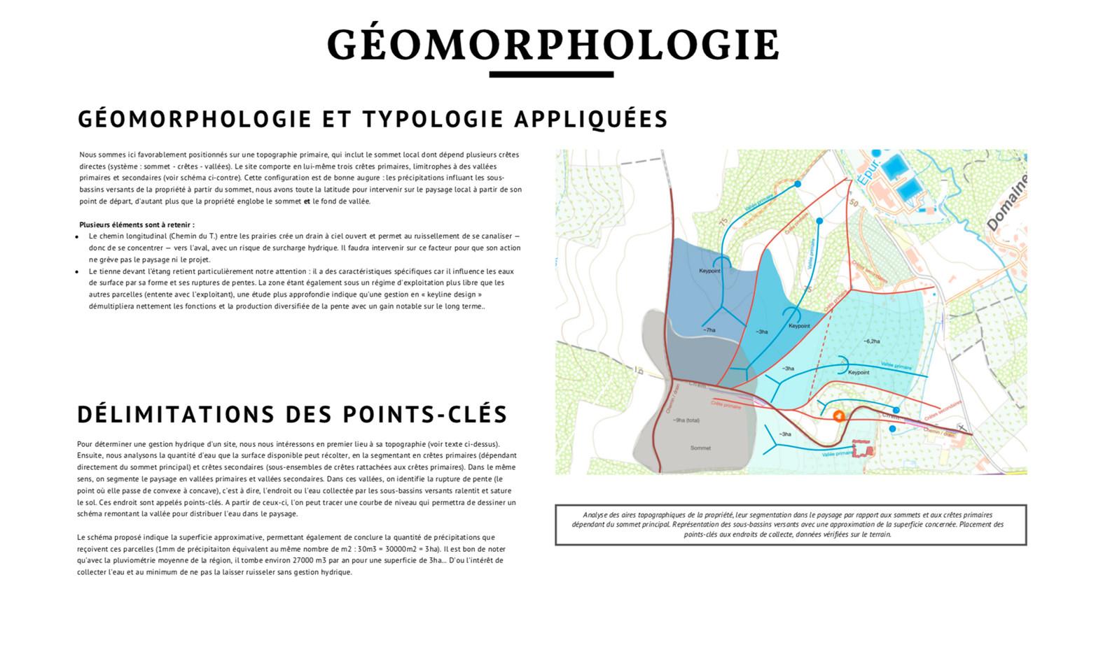 Analyse géomorphologique