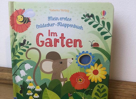 Mein erstes Entdecker - Klappenbuch: Im Garten