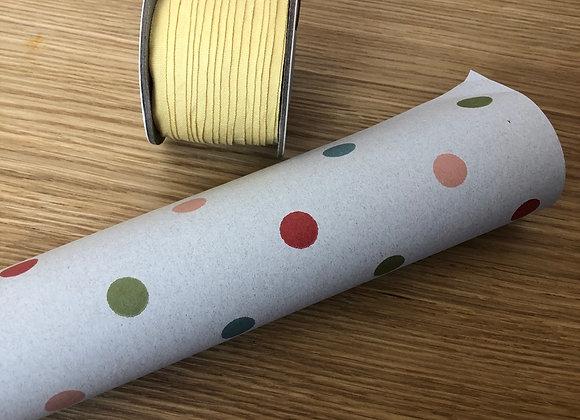Geschenkpapier - multi dots von Maileg