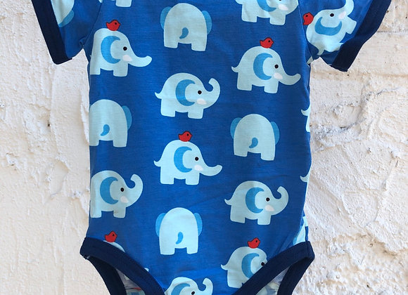 Body mit Elefanten-Print