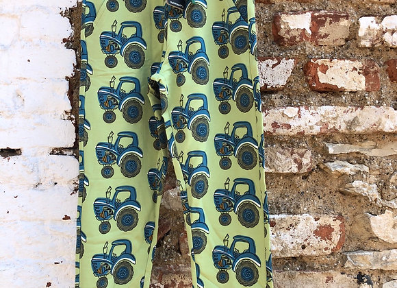 Sweatpants mit Traktor-Print