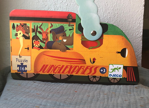 Djeco Lokomotive - Puzzle