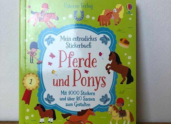 mein extradickes Stickerbuch - Pferde und Ponys