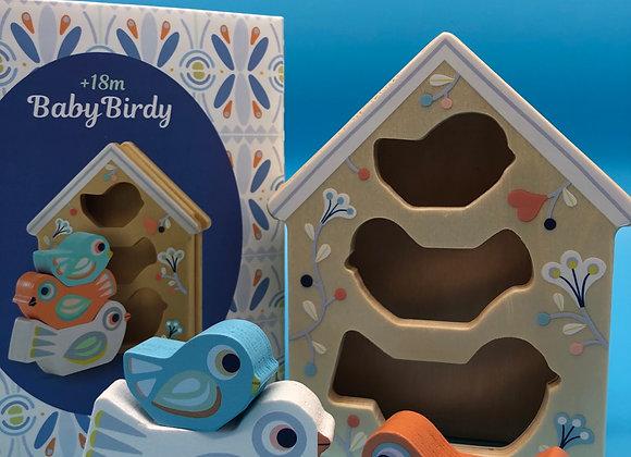 Steckspiel - Baby Birdi