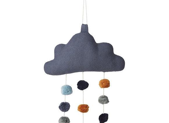 Liewood , Mimi Wolken Mobile blue wave
