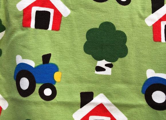 Shirt mit Bauernhof-Print