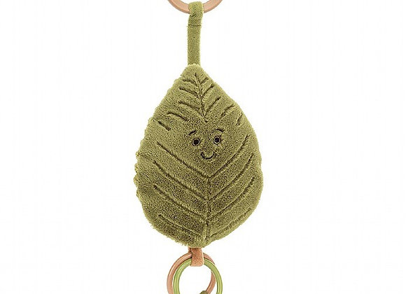 Jellycat , Woodland Beech Leaf Ring Toy