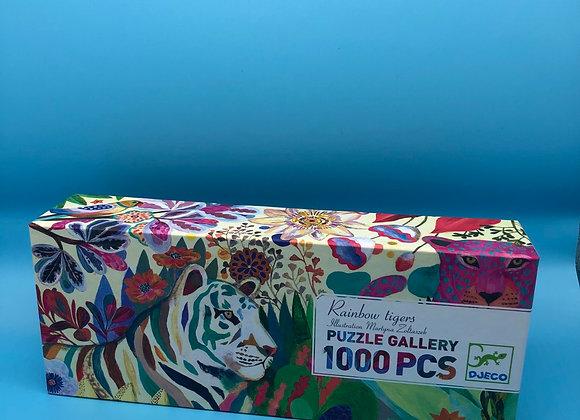Rainbow Tiger - 1000 Teile