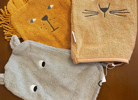 Liewood , Sylvester wash cloth, safari mix