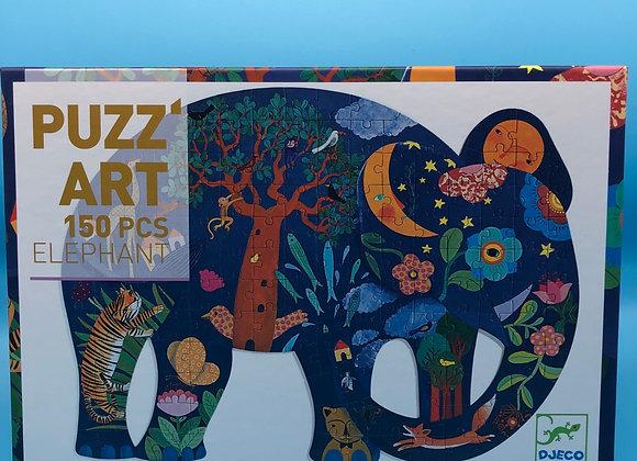 Puzz'Art Elefant - 150 Teile