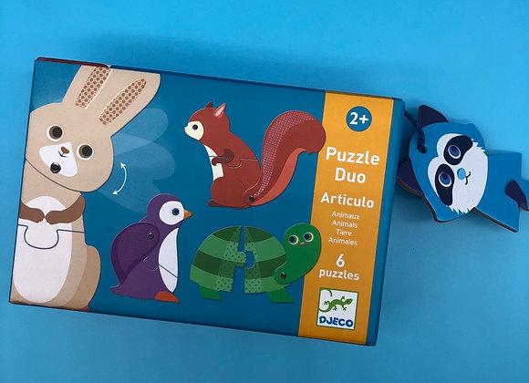 Puzzle duo: Tiere