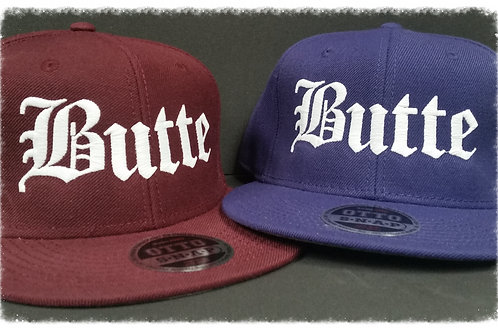 Straight Outta Butte Snapback Caps