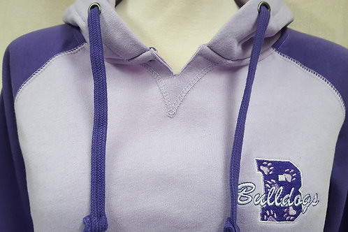 Limited Edition Bulldogs Two-Tone Angel Fleece Hoodie