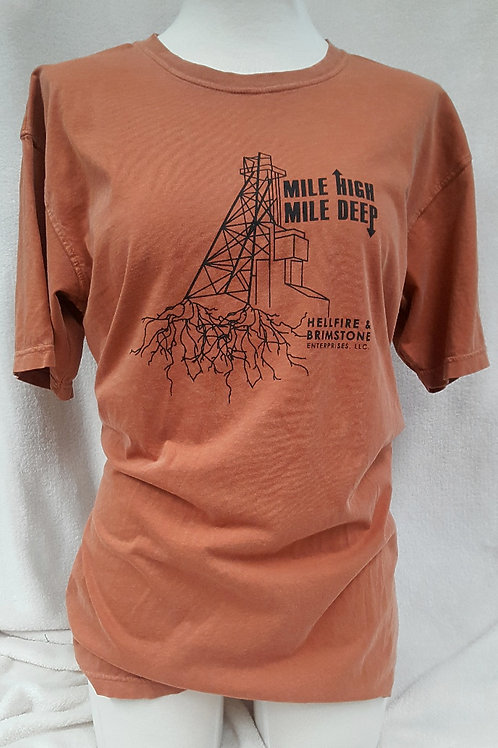 Butte Roots Copper Short Sleeve Tee